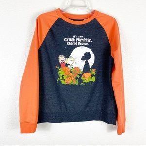 Peanuts Great Pumpkin Charlie Brown Sweatshirt